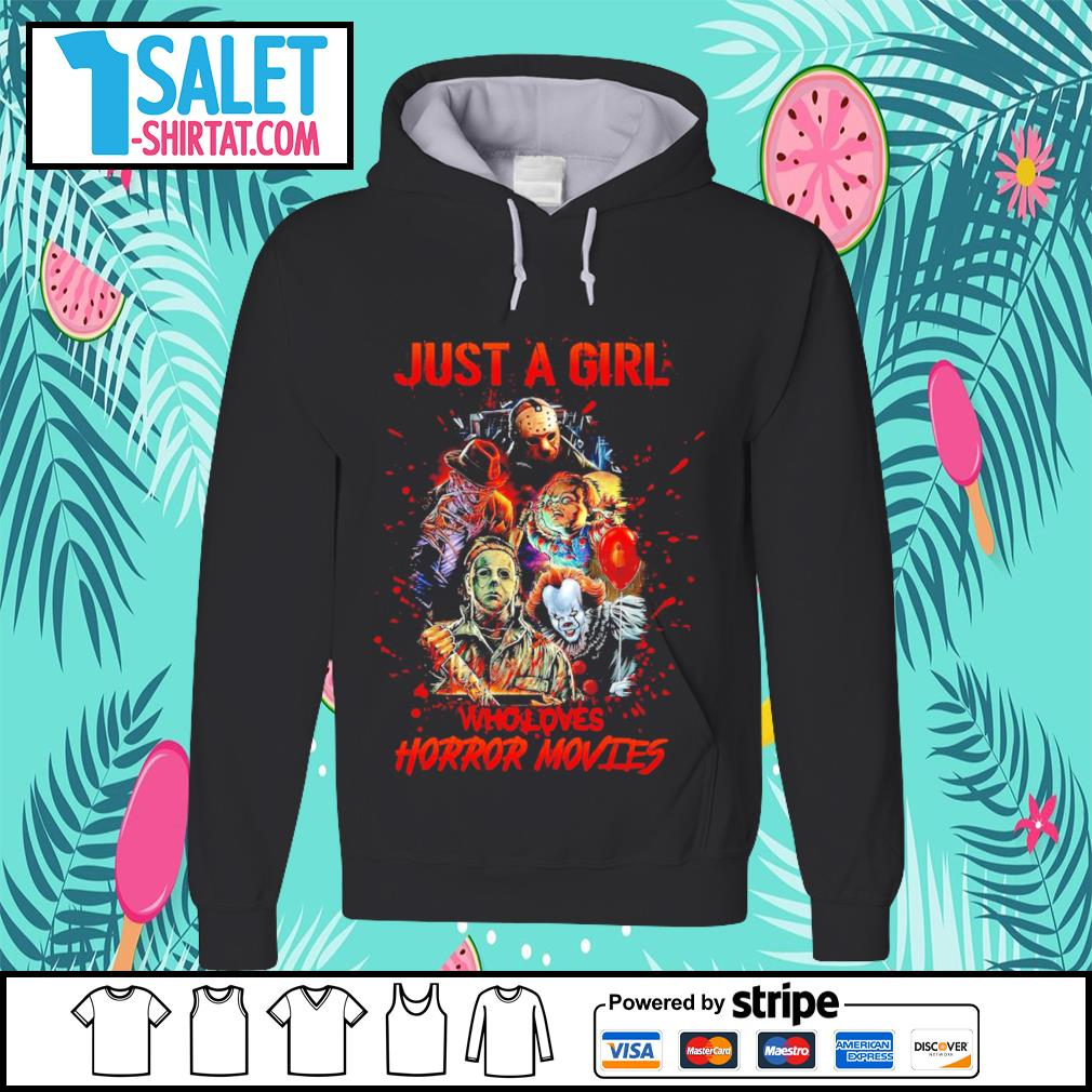 Halloween just a girl who loves horror movies characters s hoodie.jpg