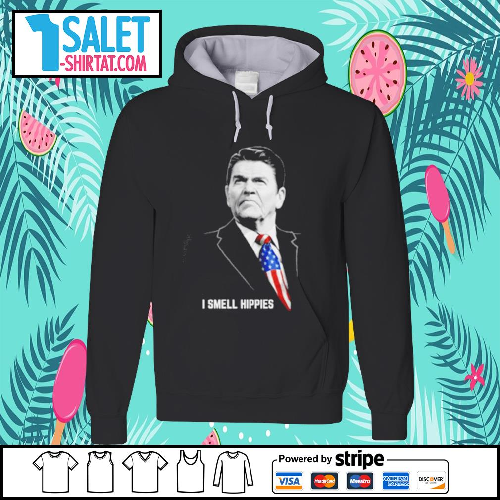 Ronald Reagan I smell hippies s hoodie.jpg