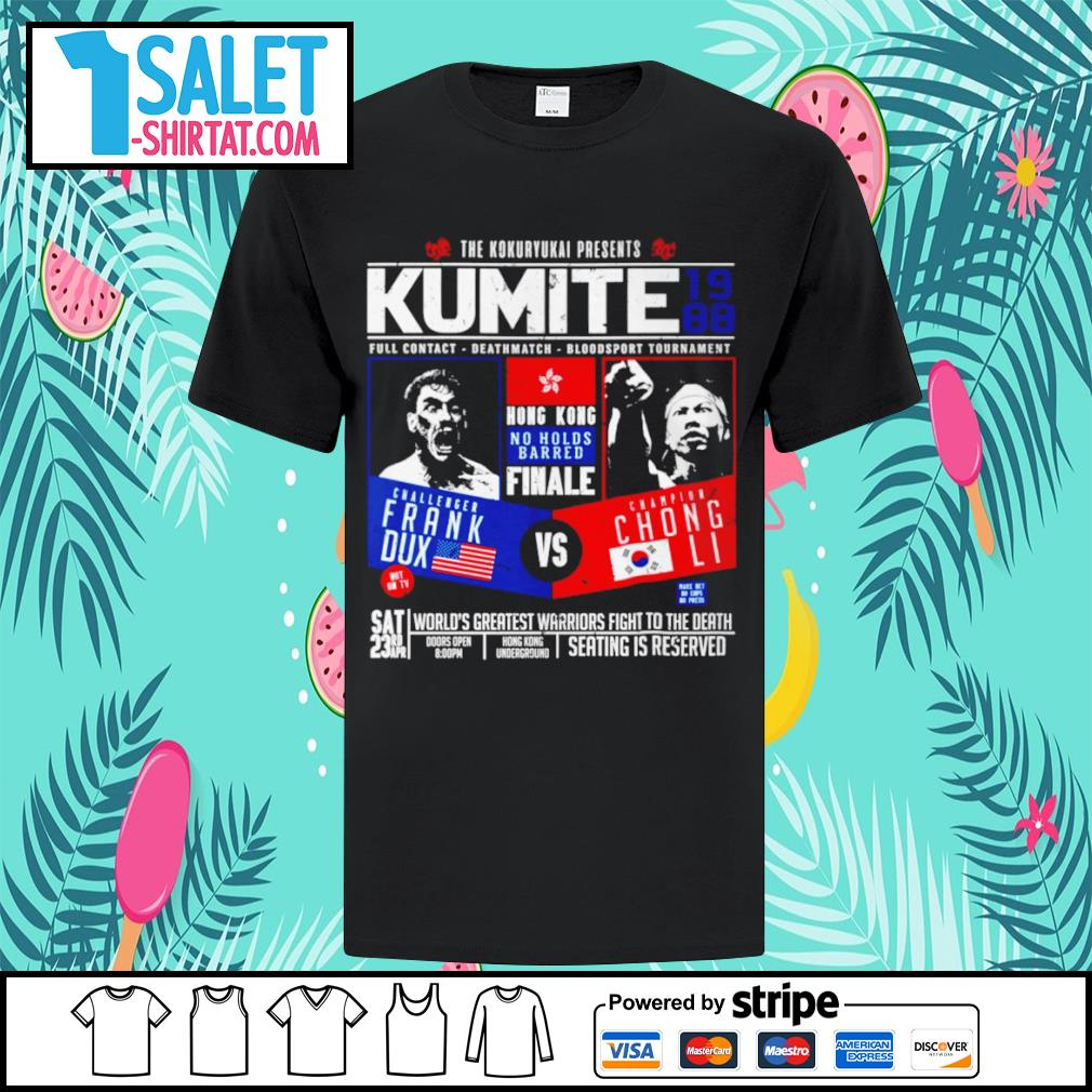 The Kokuryukai presents Kumite 1988 full contact deathmatch shirt
