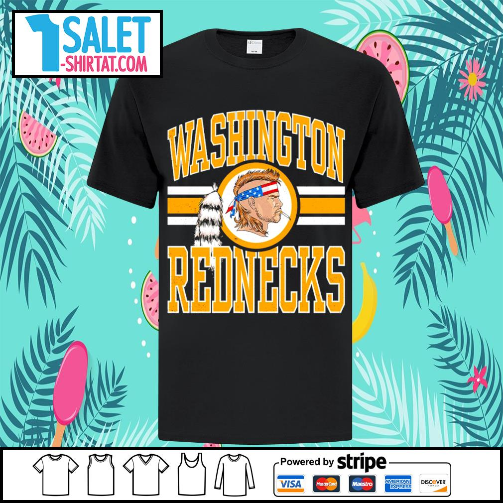 Washington Rednecks change shirt