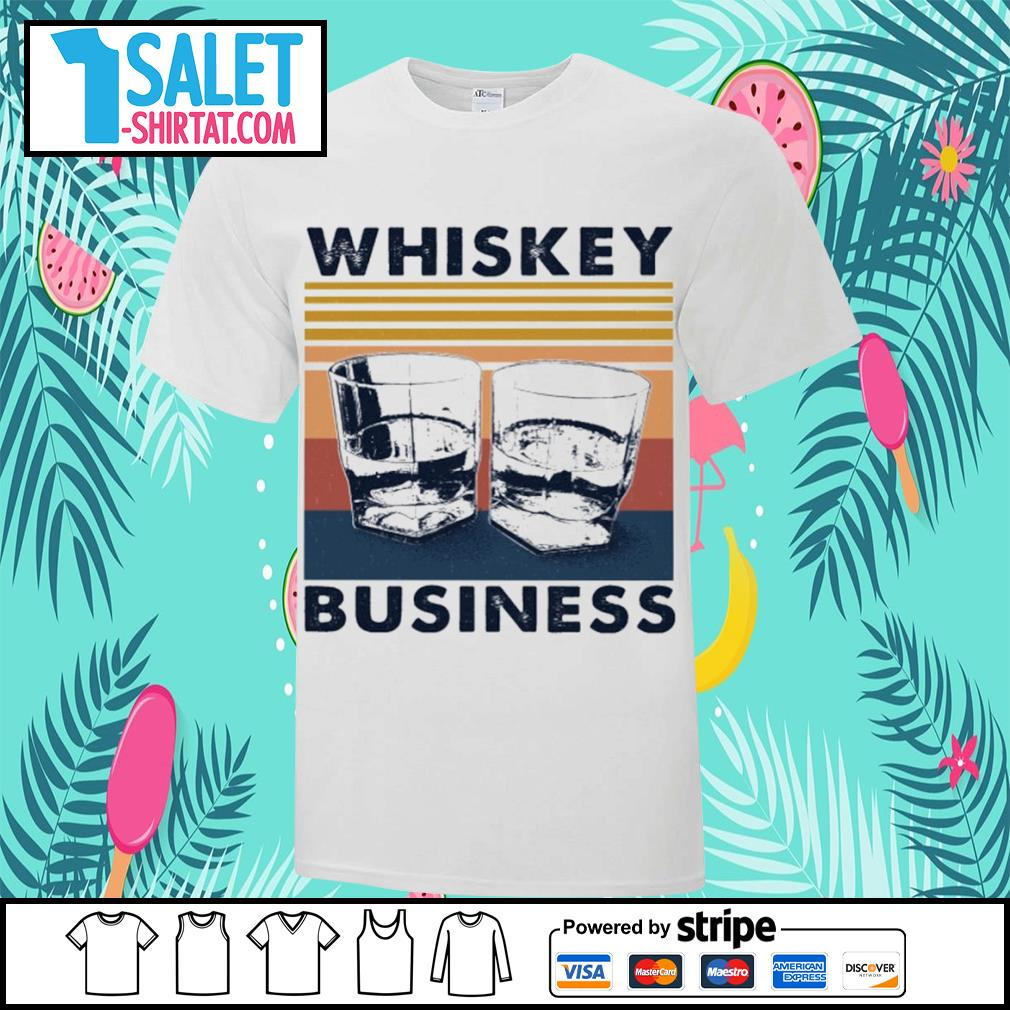 Whiskey business vintage shirt