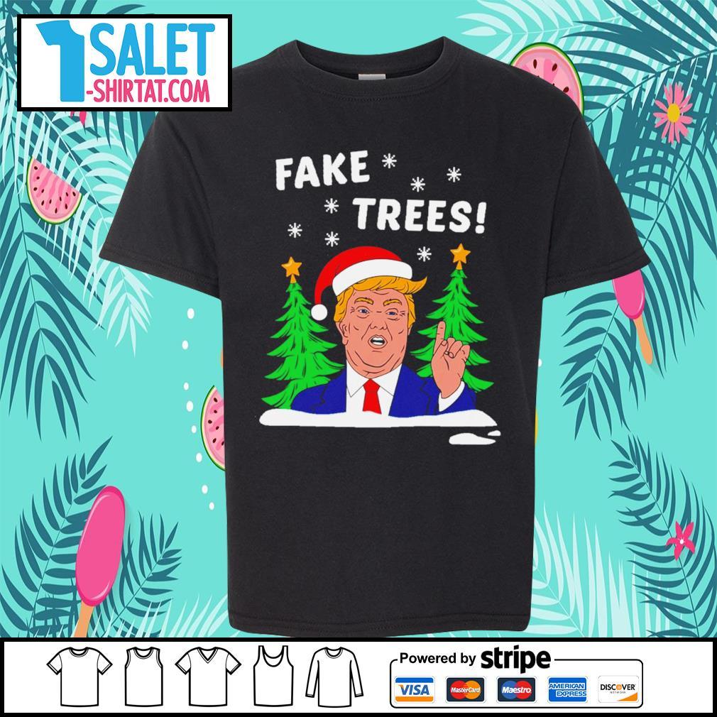 Donald Trump fake trees Christmas s youth-tee.jpg