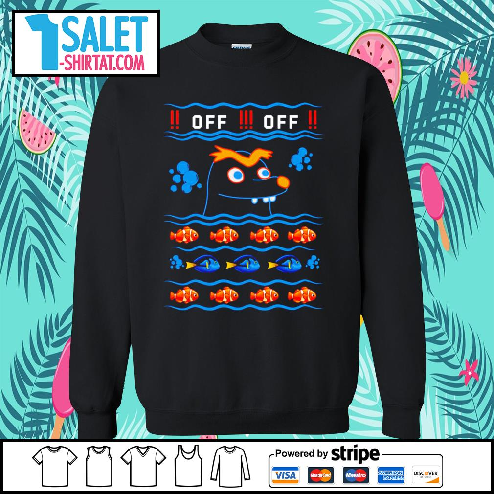 Gerald Nemo and Dory off off ugly Christmas s sweater.jpg