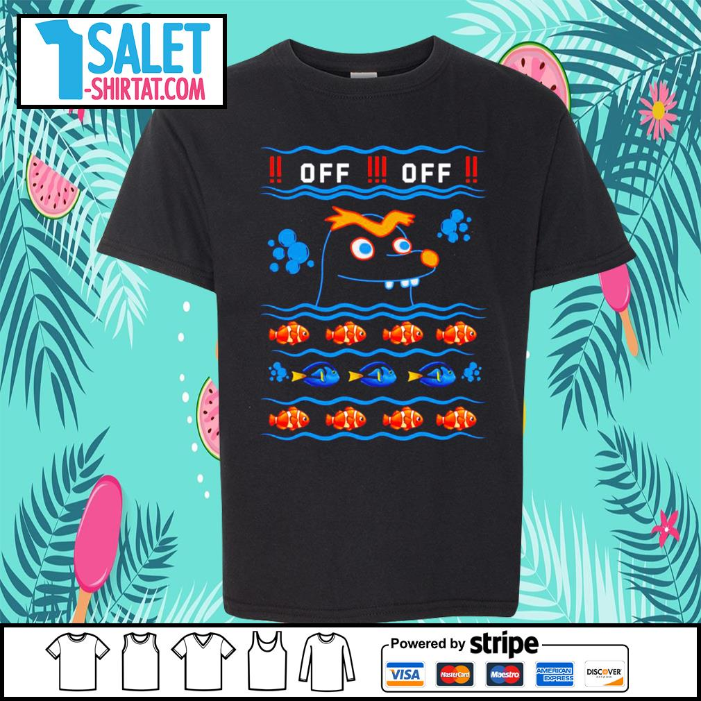 Gerald Nemo and Dory off off ugly Christmas s youth-tee.jpg