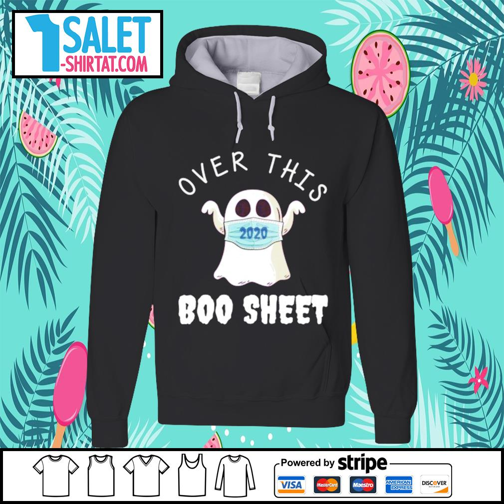 Ghost face mask 2020 over this boo sheet s hoodie.jpg
