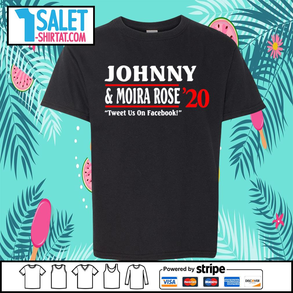 Johnny and Moira Rose 2020 tweet us on facebook s youth-tee.jpg