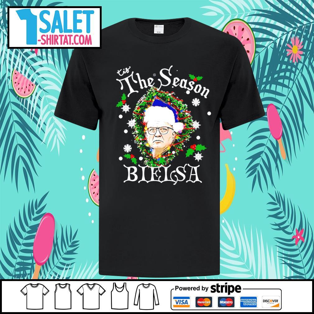 Tis the season Bielsa ugly Christmas shirt